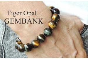 Lắc Tay Opal Tự Nhiên 12mm Loại 1
