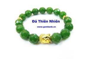 Cẩm Thạch Tự Nhiên Charm Phật
