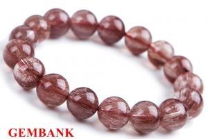 Thạch Anh Tóc Đỏ - Red Rutilated Quartz