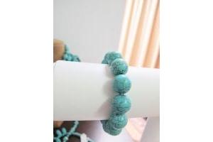 Vòng tay Turquoise xanh
