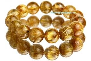 Natural Golden Rutilated Quartz Size 14