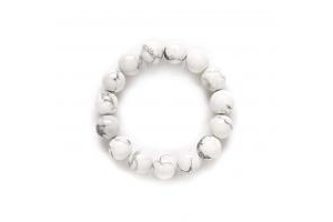 Lắc Howlite size 12mm