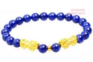 Vòng Tỳ Hưu Lapis Lazuli Đá Thần Hy Lạp Tự Nhiên GEMBANK