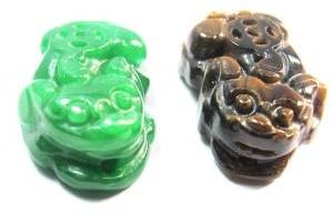 Bộ Vòng Cổ Tỳ Hưu Tiger Opal - Tỳ Hưu Cẩm Thạch