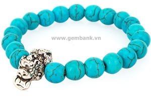 Vòng Tay Turquoise Blue size 8