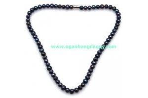 Vòng cổ Ngọc trai đen S6